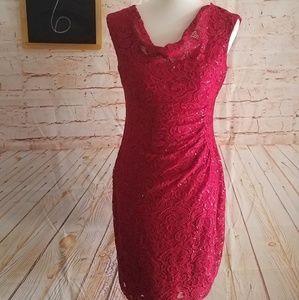 Lauren Ralph Lauren Sleeveless Red Dress Size 6